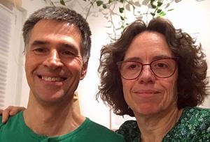 Rita Maier und Helmut Maier in der Praxis